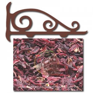 Hibiscus - Flor de Hibisco (Granel - Preço/100g)